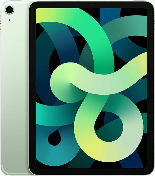 "Apple iPad Air 4. Gen 64GB 10,9"" Wi-Fi + Cellular LTE 2020 Grün - Differenzbesteuerung § 25a UStG"
