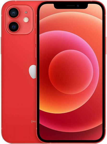 Apple iPhone 12 256GB PRODUCT RED Rot - MGEC3ZD/A - Differenzbesteuerung § 25a UStG