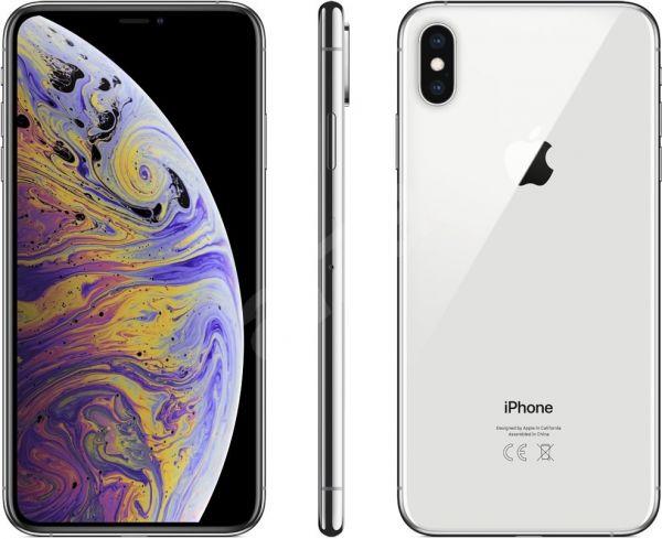 Apple iPhone XS 64GB Silber - MT9F2ZD/A - ( Ohne Simlock ) Smartphone