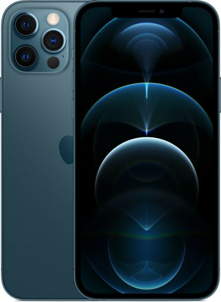 Apple iPhone 12 Pro 128GB Pazifikblau - MGMN3ZD/A - Differenzbesteuerung § 25a UStG