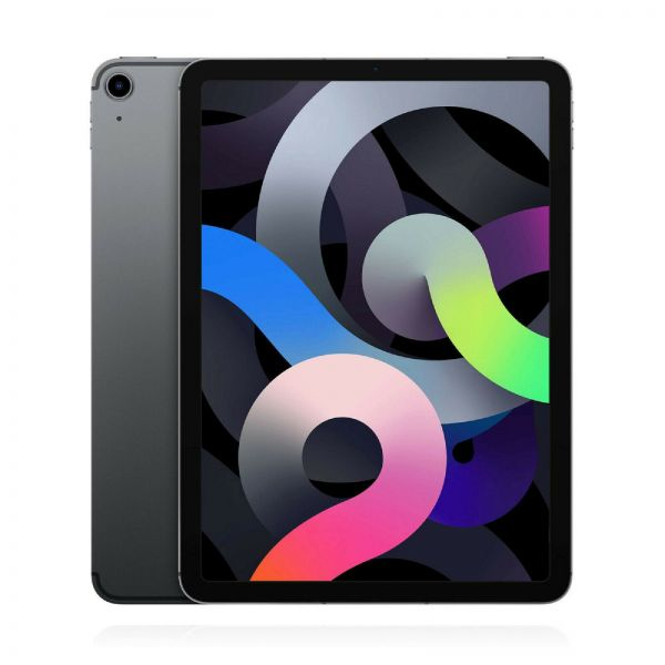 "Apple iPad Air 4. Gen 64GB 10,9"" Wi-Fi + Cellular LTE 2020 A2072 Space Grau - Differenzbesteuerung §"