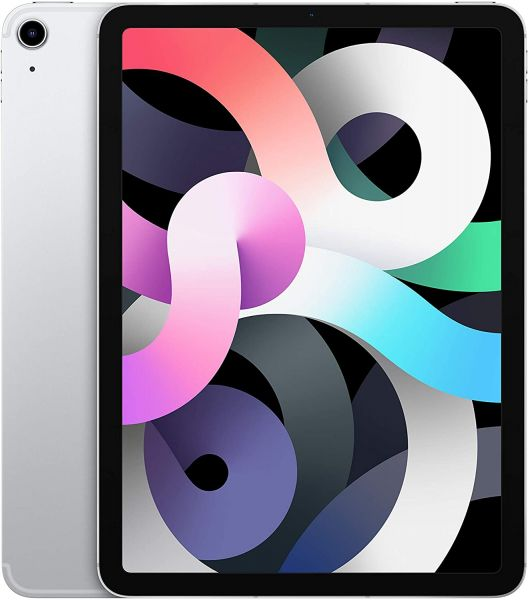 "Apple iPad Air 4. Gen 64GB 10,9"" Wi-Fi + Cellular LTE 2020 Silber - Differenzbesteuerung § 25a UStG"